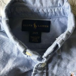 Ralph Lauren Shirts & Tops - Ralph Lauren Girls Button Down